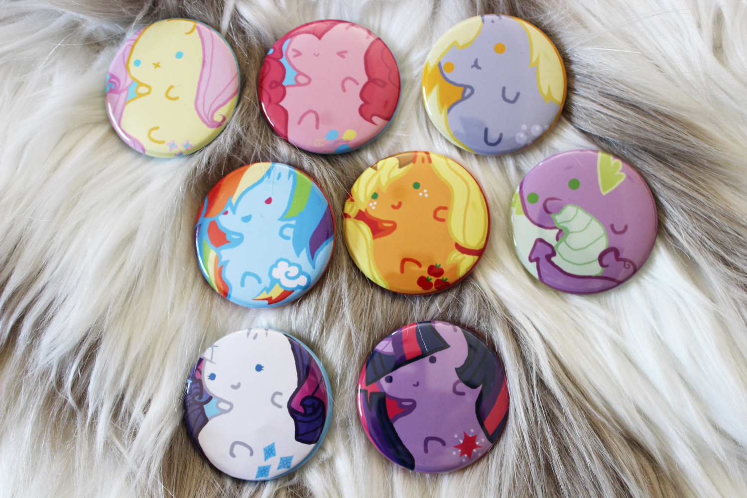 "My Little Pony 1.5"" Button Set · Moss Deer · Online Store Powered by ...: mossdeer.storenvy.com/products/8349837-my-little-pony-1-5-button-set"