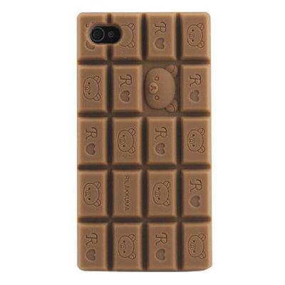 Iphone 4/4s rilakkuma chocolate case