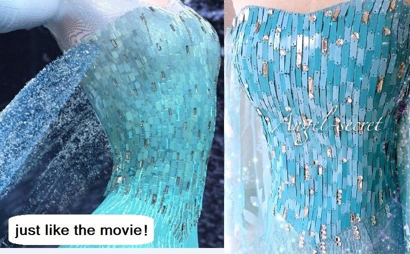 Elsa Dress Frozen Cosplay