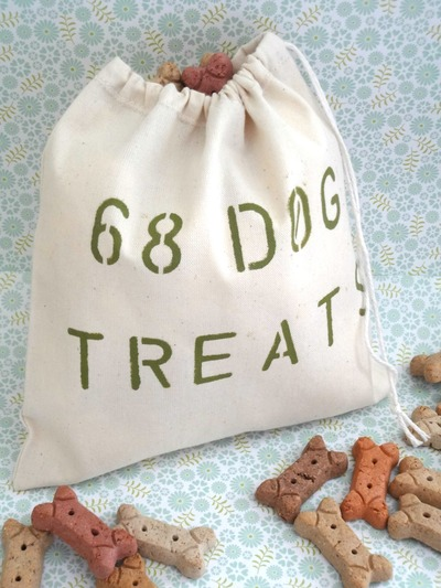 Doggie Treats Bag/Produce Bag/Storage Bag - 68 Dog Treats