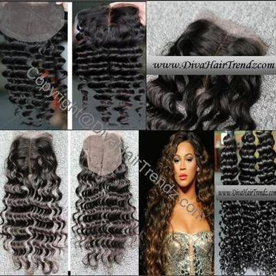 "16"" brazilian remy deep wave hair [3 bundles] + 12"" closure [complete look!]"