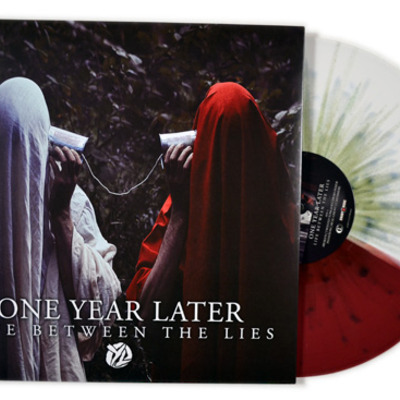 "One year later - life between the lies 12"" lp"
