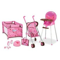 ON SALE & FREE SHIPPING Graco All In One Playset Doll Highchair