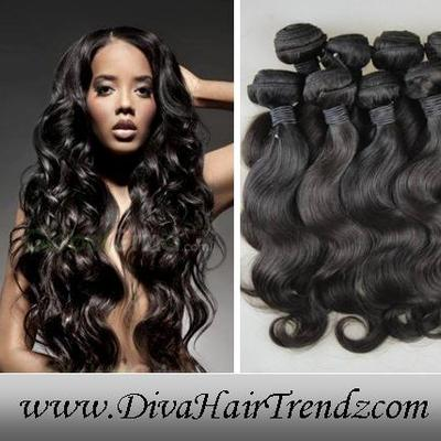 "Two (2) 16"" & three (3) 18"" grade 5a w/ 14"" lace closure! aaaaa sassy brazilian remy body wave hair [5 bundles + lace closure]"