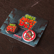 Orcs Must Die! Button Pack