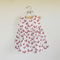Little foxes dress