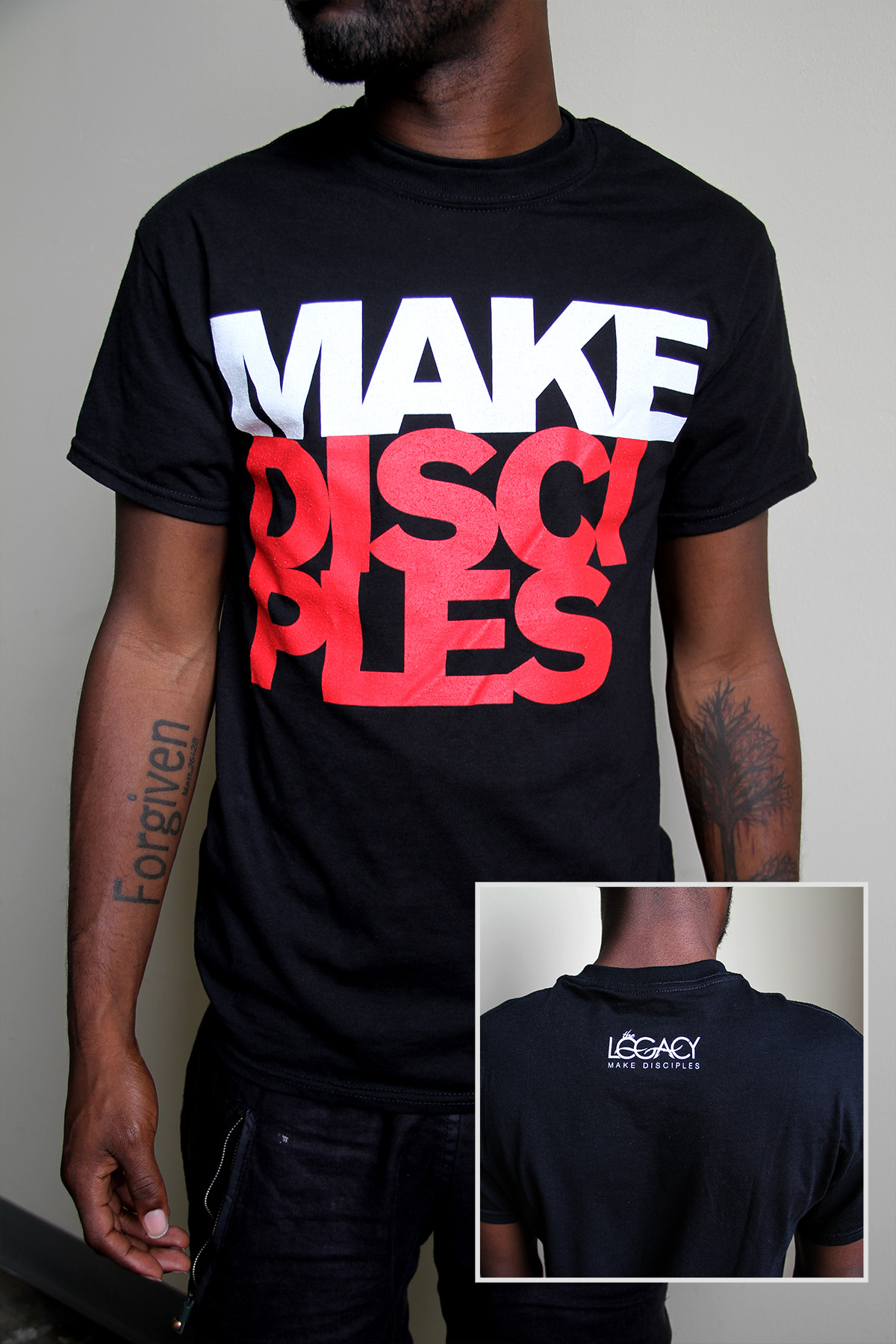 Make Disciples T-Shirt · LegacyDisciple · Online Store Powered by ...