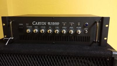 Carvin Bass Amp Carvin B1500 Bass Amp Head
