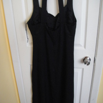 Jump Long Black Dress Sz 18