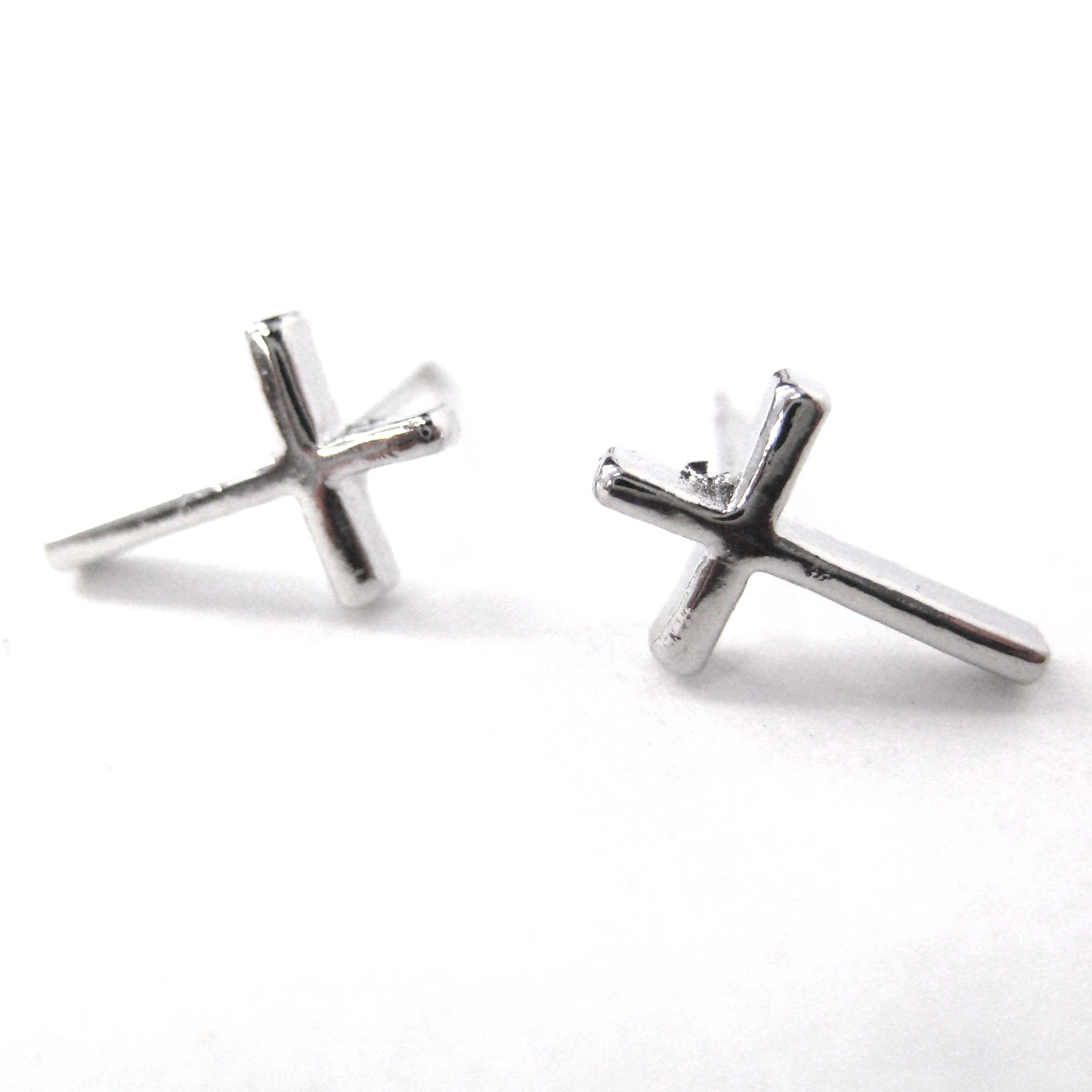 collections silver sterling original e products crystal tiny stud earrings small women dangle for