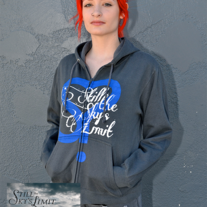 Womens S-Heart Zip Hoodie/CD Bundle