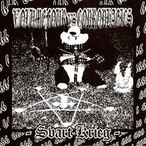"Coprophagics/Volume Four ""Svart Krieg"" split 7"""