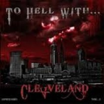 v/a TO HELL WITH CLEVELAND 7''(NUNSLAUGHTER,DOKTOR BITCH,DECREPIT,DANA 60 AND THE PISTOL GRIPS