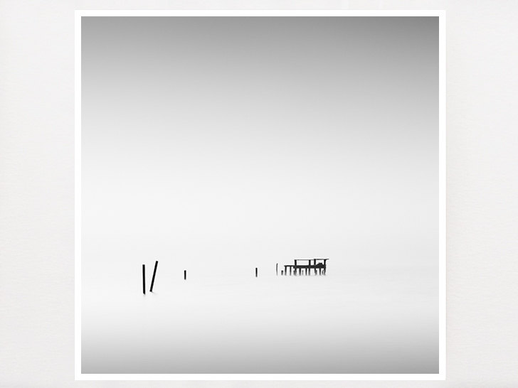 Minimalist Wall Art, Black and White, Zen Photograph, Long Exposure ...