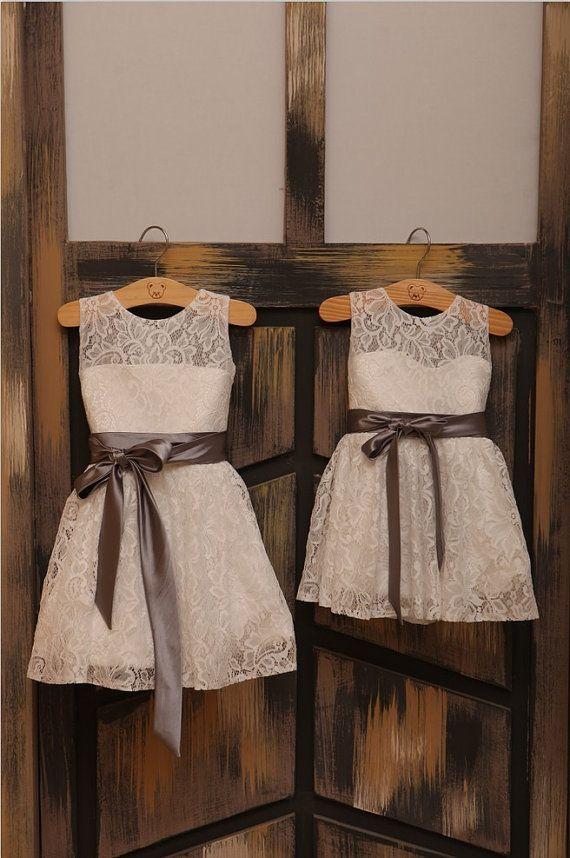 Cute White Toddler Dresswhite Flower Girl Dress White Kids Dress