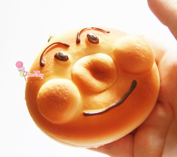 Squishy Nose : Large Anpanman Bread Squishy ? Uber Tiny ? Online Store Powered by Storenvy