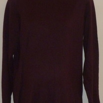 Dark Purple Turtleneck-Gap Maternity Size Large