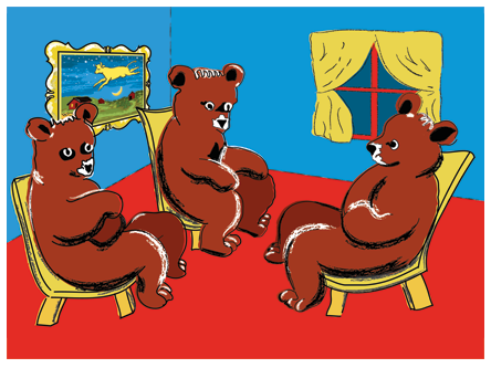 The Story of the Three Little Bears, as Told by My Two-Year-Old ...