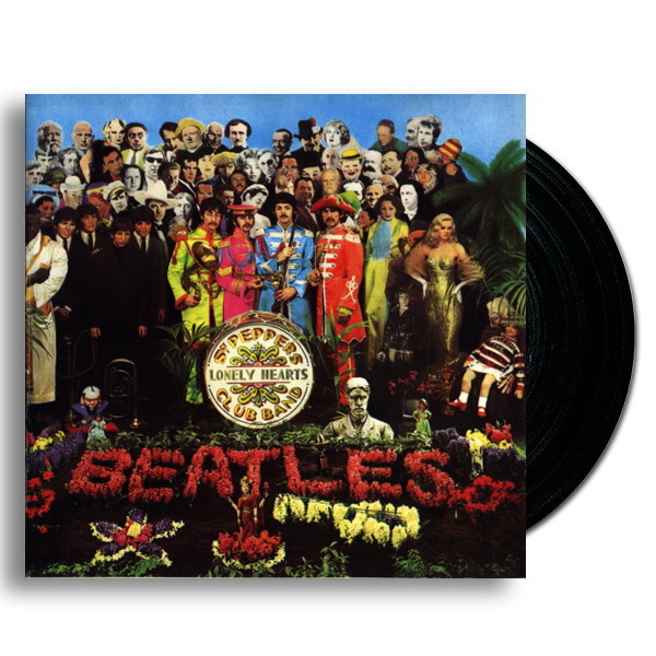 Image of Sgt. Peppers Lonely Hearts Club album cover