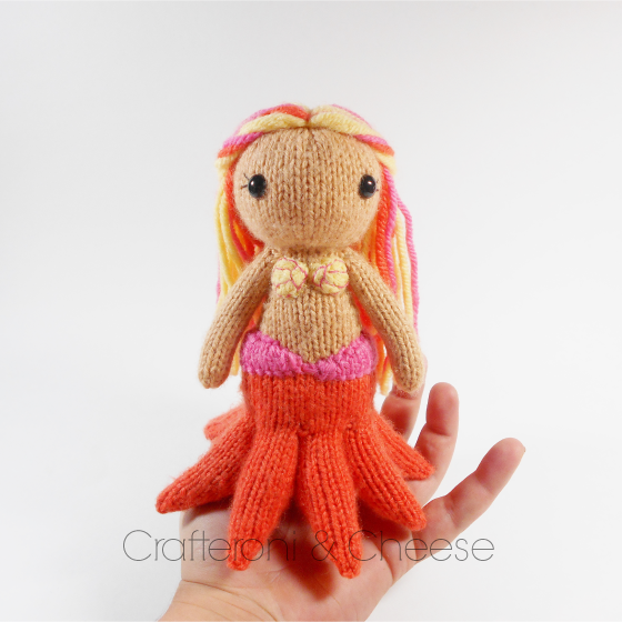 Amigurumi Knit Octomaid Plush ? Crafteroni & Cheese ...