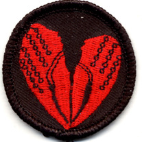 Crawfish Heart Patch!