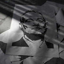 Mr. Bill Murray | CW | Wheatpaste - Large