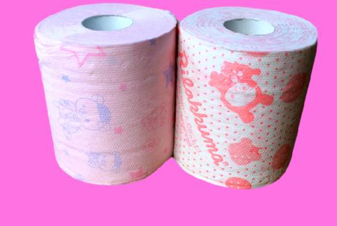 Rilakkuma Print Scented Toilet Paper Strawberry Soap