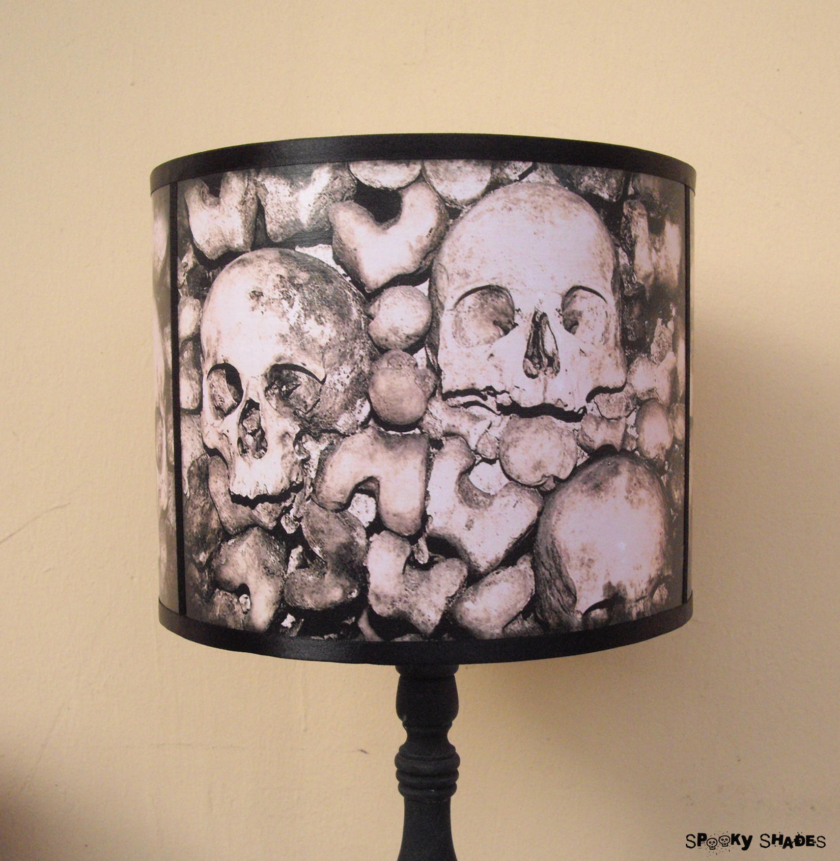 Paris catacombs skull lamp shade lampshade spooky shades online paris catacombs skull lamp shade lampshade thumbnail 3 aloadofball Image collections