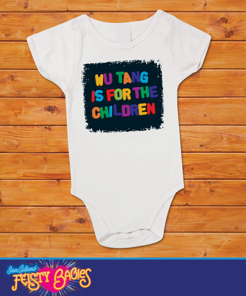 ae32f2e69 Wu-Tang is for the children, Wu Tang Baby one piece, bodysuit, under shirt  on Storenvy
