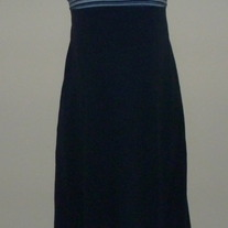 Navy Blue/Stripe Dress-Motherhood Size Small