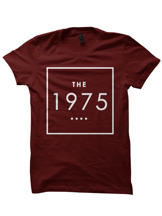 THE 1975 BAND T-SHIRT 1975 BAND CONCERT TICKETS CELEBRITY ...