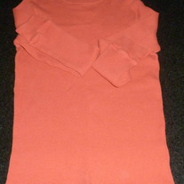 Orange Long Sleeve Shirt-Urban Pipeline Size Medium