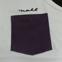 Purple Heather Pocket Tank Top