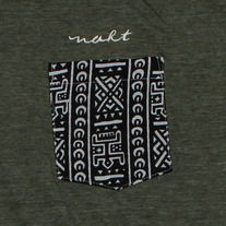 Tribal Dark T-Shirt (Army Heather)