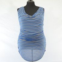 Sweet Pea by Stacy Frati Ruched Striped Tank