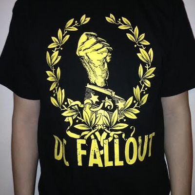 Dc fallout fist tee