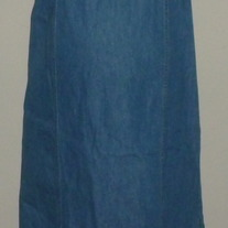 Long Denim Jumper/Dress-Motherhood Size Medium