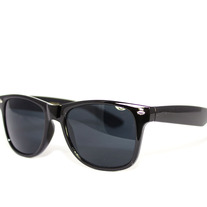 The Officials - Unisex Black Wayfarer Sunglasses