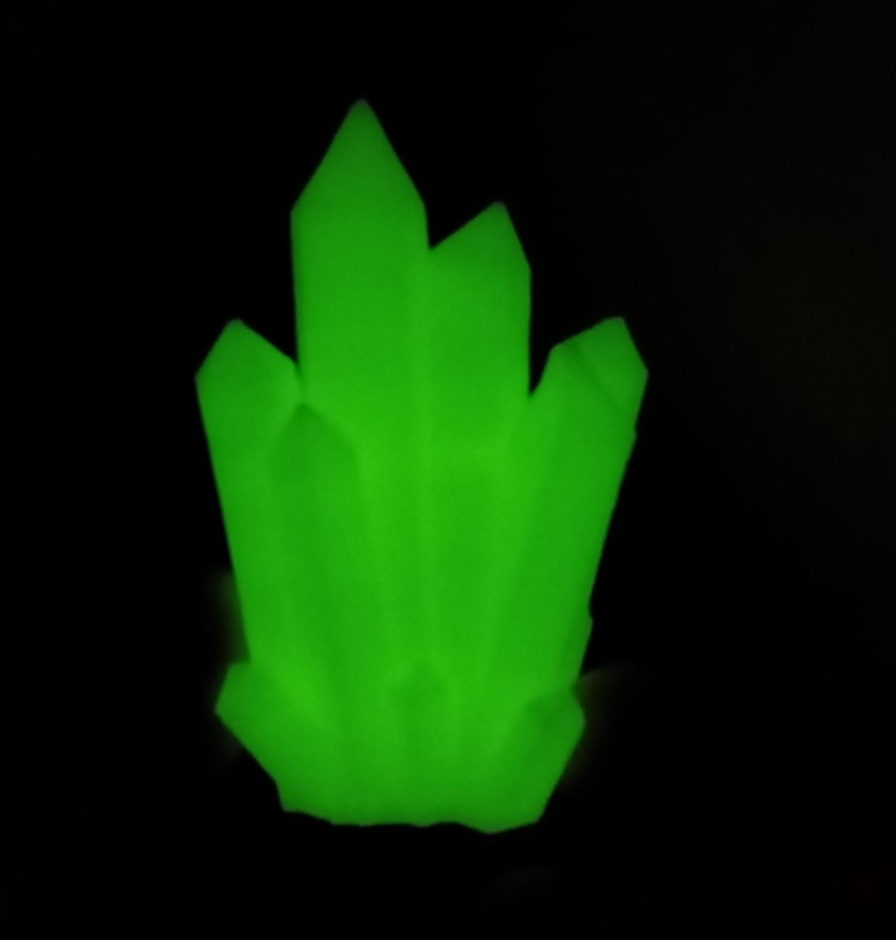 3D Printed Kryptonite Glow in the Dark · The EmbeddedJunkie Shop ...