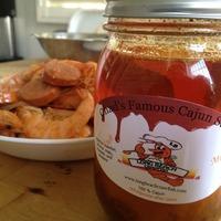 Chad's Famous Cajun Sauce 16 oz (Spicy) - Thumbnail 2