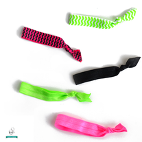 80s Collection Hair Ties - Set of 5