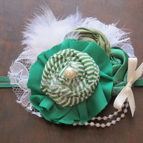 St. Patrick's Day Green headband