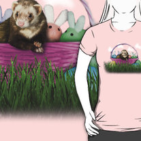 Easter Ferret T-Shirt