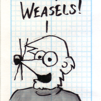 Sketch Card: Guy Weasel
