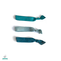 Teal Trio - Set of 3 Hair Ties