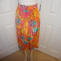 Vintage Colorful Skirt Size 10!!