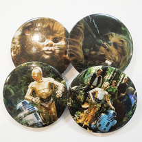 Vintage Star Wars Button Pack - Forests of Endor