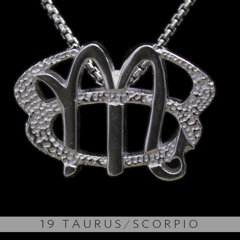 Unity design concepts the taurus and scorpio silver unity pendant the taurus and scorpio silver unity pendant mozeypictures Images