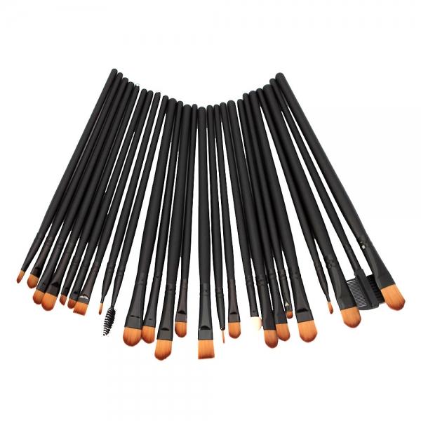 32pcs  Natural brush Black/H00549 makeup  natural Cosmetic Set Animal Hair Makeup Brush set  bristle