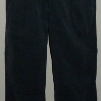 Black Pants-Belly By Design Size Large  03085